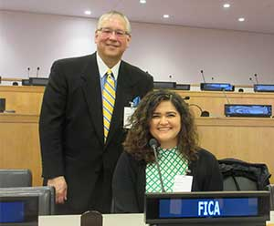 United Nations externship provides unique experience for Coe student
