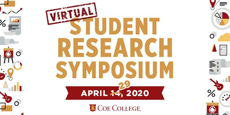 Graphic for the Virtual Student Research Symposium on April 29