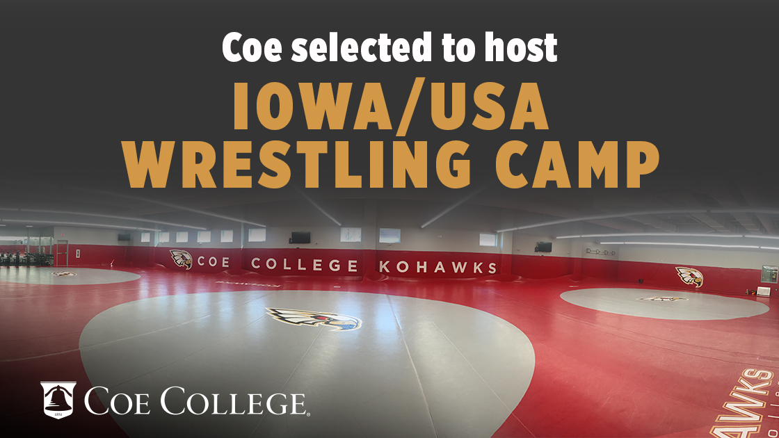 Coe College selected to host Iowa/USA Wrestling camp through 2021