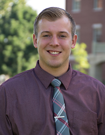 Connor Jordan '16, Assistant Director of Admission
