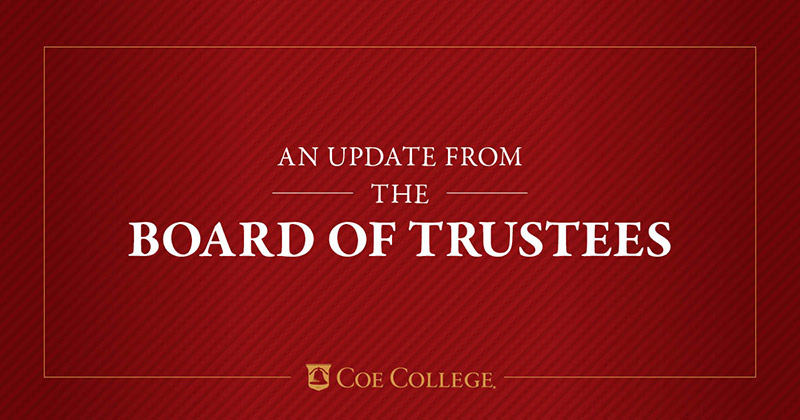 Board of Trustees Update