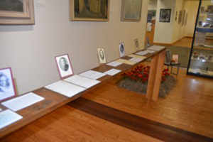 World War I in Remembrance exhibit