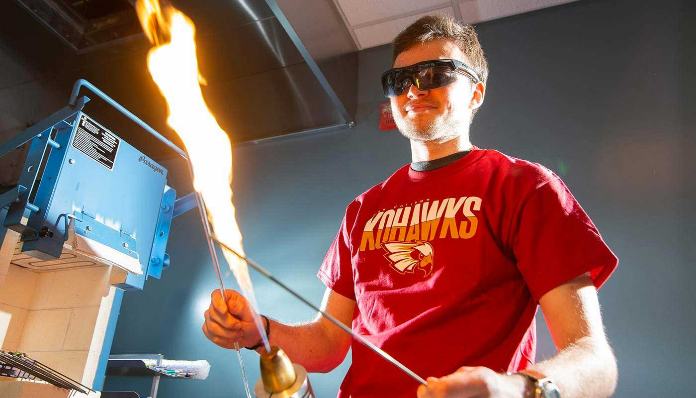 Physics Research with Flames