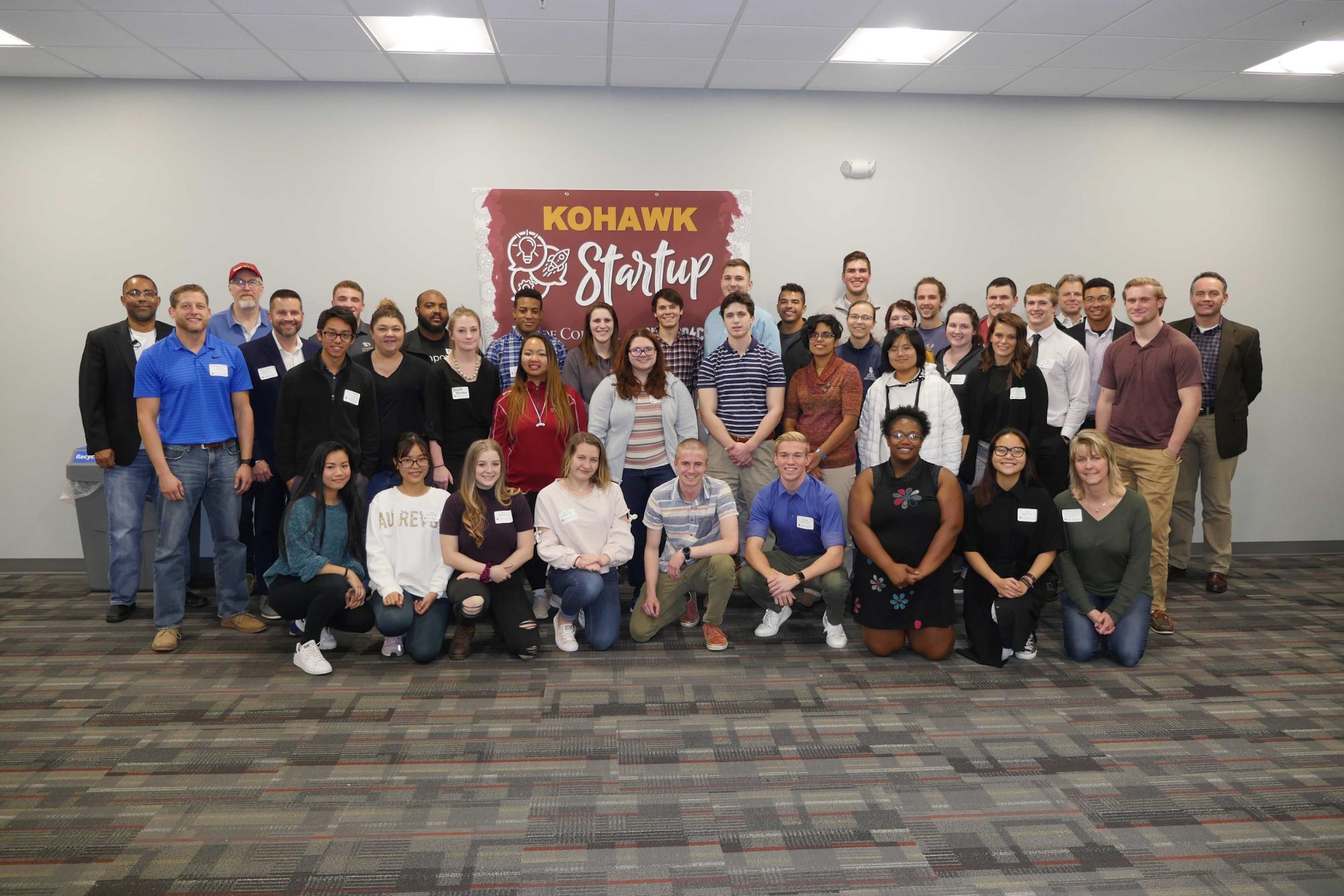 Kohawk Startup Group Photo