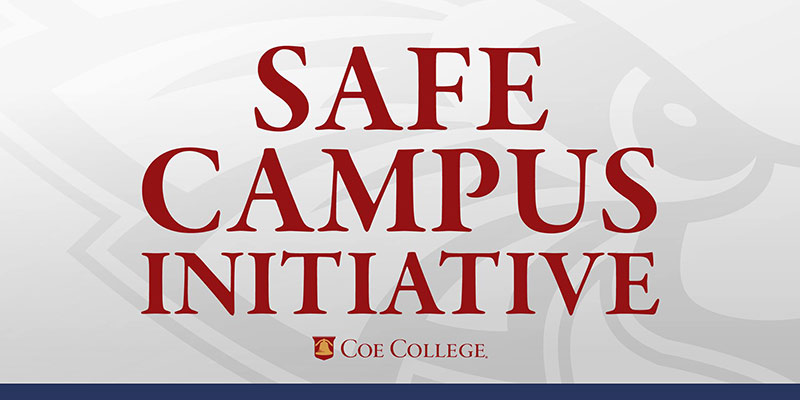Graphic that says Safe Campus Initiative