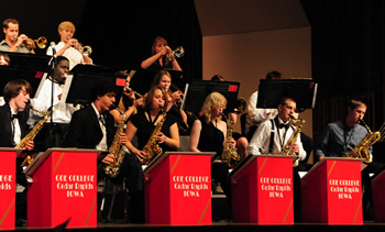Coe College Jazz Band