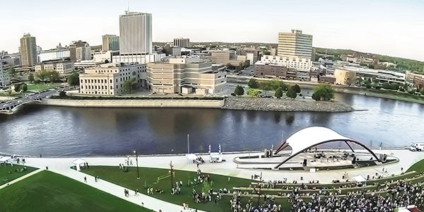 Skyline View of Cedar Rapids