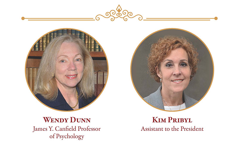 Wendy Dunn and Kim Pribyl