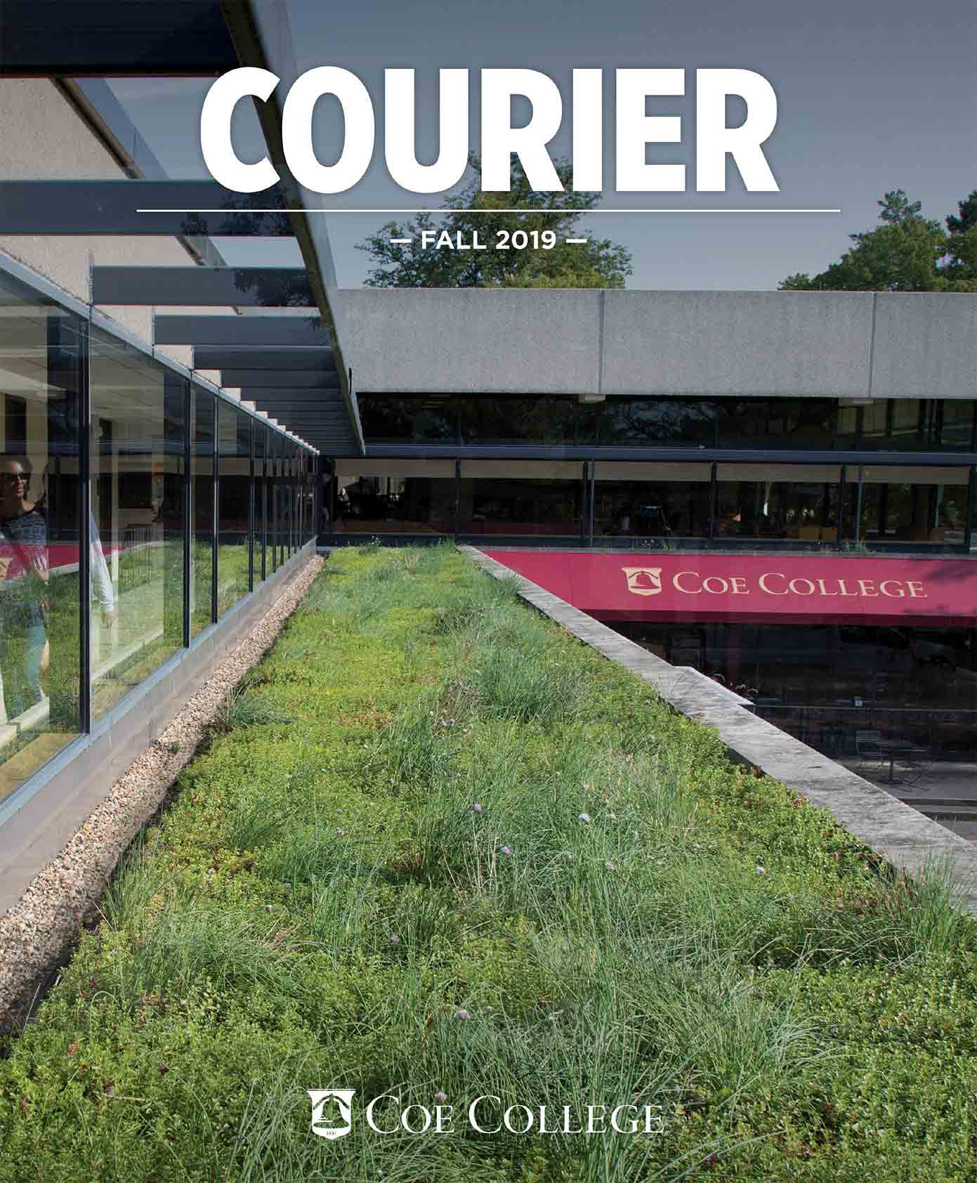 Fall 2019 Courier cover