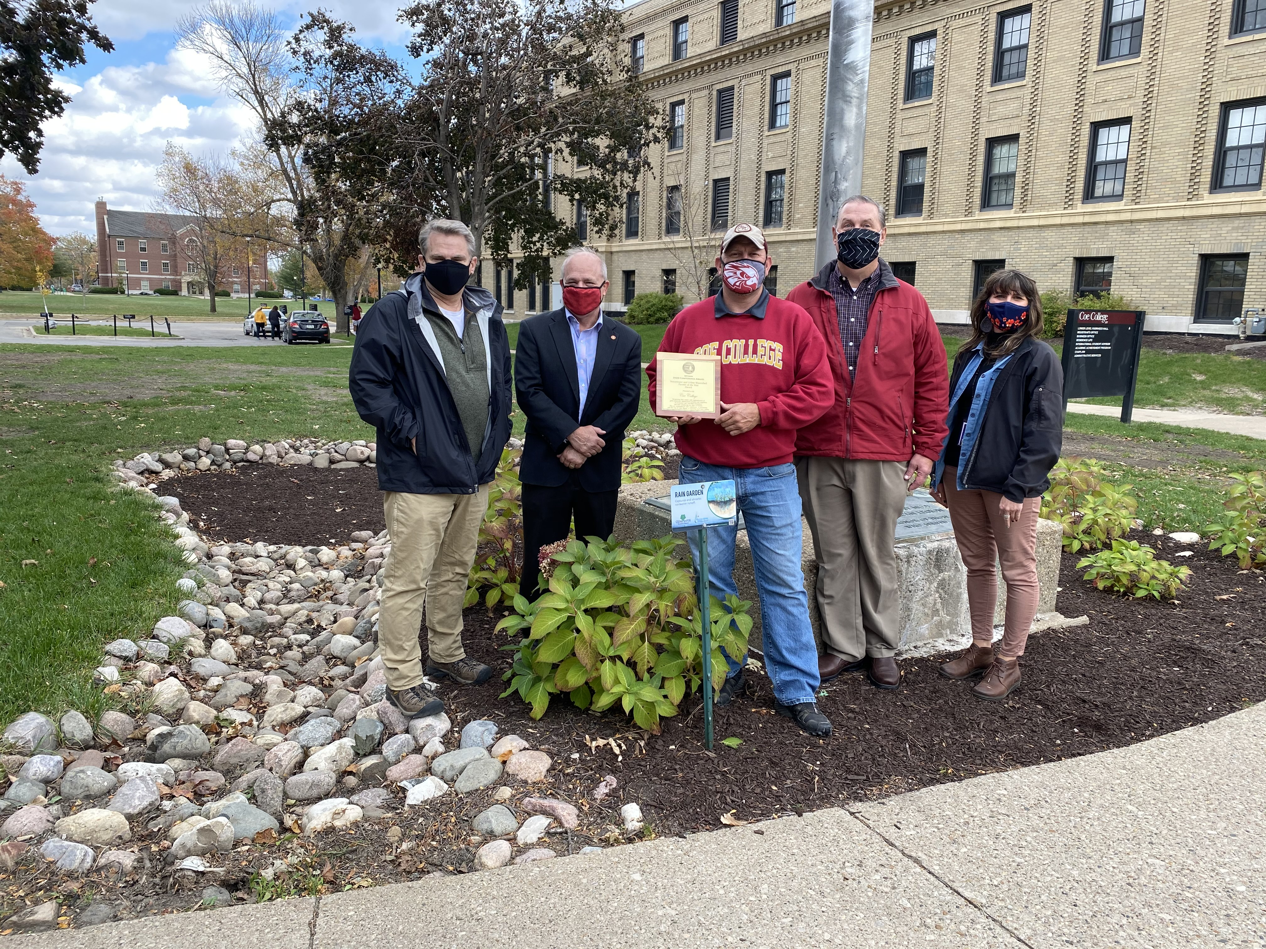 Coe honored with Stormwater and Urban Watershed Partner of the Year Award