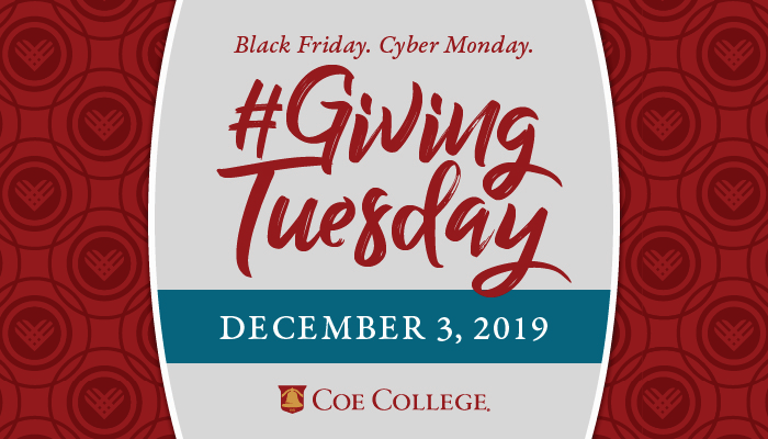 Giving Tuesday, December 3, 2019 graphic