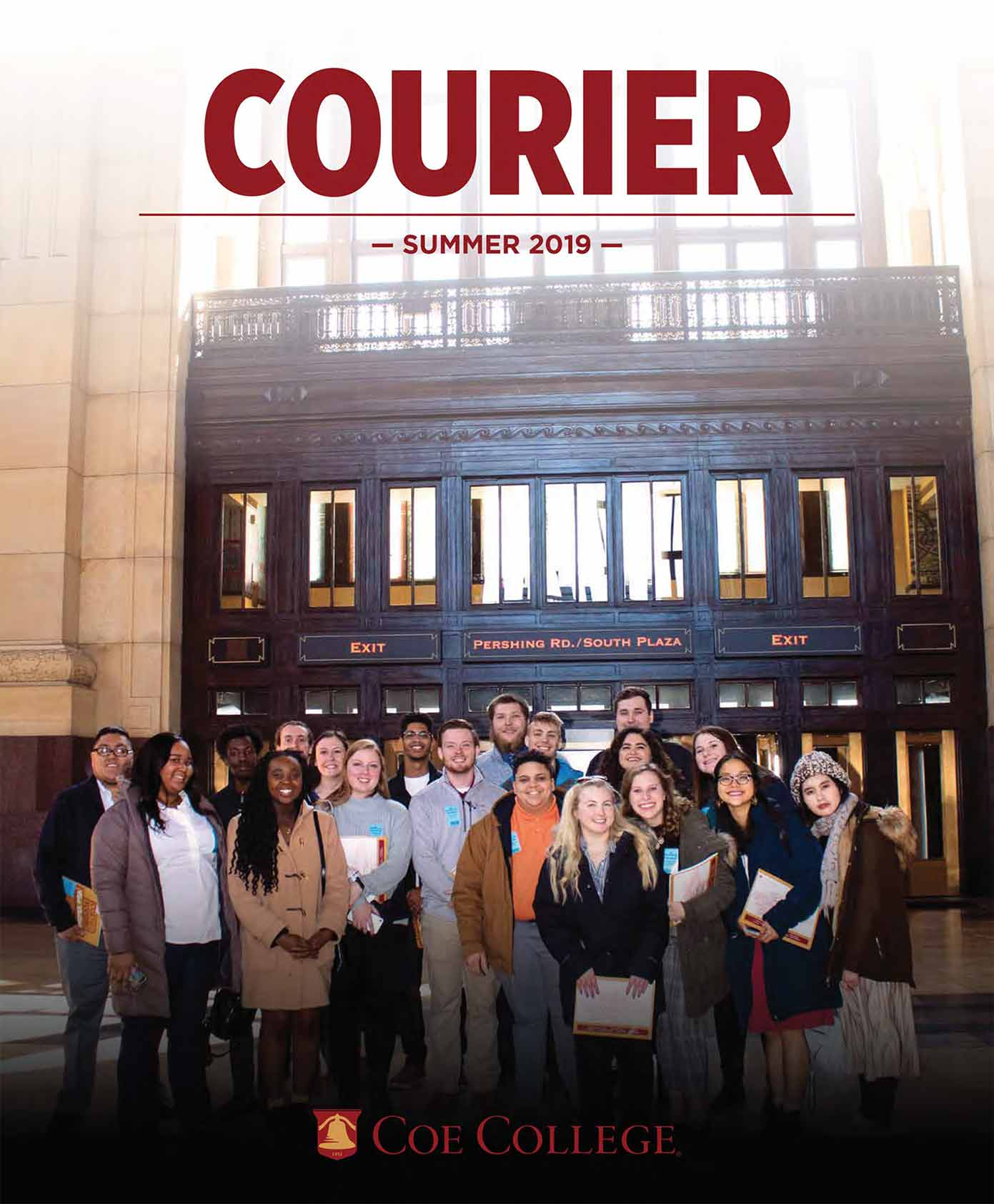 Coe College Courier Summer 2019 cover