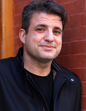 Dave Zirin, a sports writer